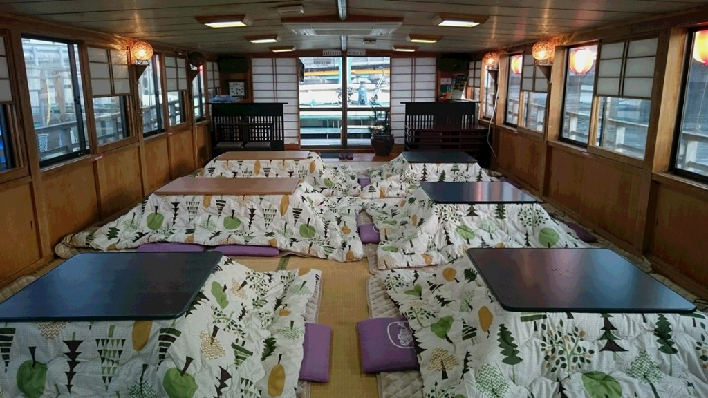 八戸こたつ屋形船のお知らせ2月